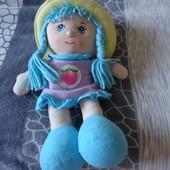 Кукла мягконабивная музыкальная