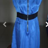 Платье цвета электрик, 100% вискоза