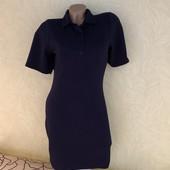 Роскошное темно-синее фактурное платье Select, сток люкс! Великобритания
