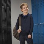 Тоненькая термо толстовка на мальчика с флисовым напылением Crivit Германия размер 146/152