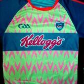 Яркая √√Kellogg's оригинал √√ спортивная футболка перфорация ,и д е а л .