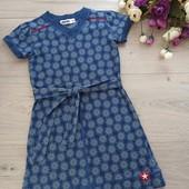 Платье для девочки 3-4года. Ориентироваться на замеры. Kikkid. Хорошее состояние.