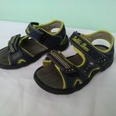 """Немецкие босоножки """"Bobbi Shoes"""" разм.26 сандалии мальчику"""