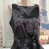Платье с искусственного шёлка, размер L.