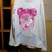 Качество! Две футболки/одним лотом от F&F и H&M, 12-13+- лет, в отличном состоянии