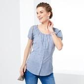 Блуза с ноткой романтики, от тсм Tchibo, Германия, евро 40, на наш 46