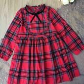 нарядное платье для девочки на 5 лет, большемерит, идеальное состояние