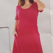 Красивое яркое платье Esmara. Размер XL (евро 48-50)