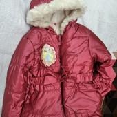 Курточка грязе-водопруф, цвет мерцающий ✓✓✓ Disney Princess, грязь вытирается салфеткой