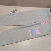 Германия!!! Суперовые коттоновые спортивные штанишки для девочки! 98/104!