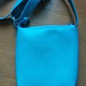 Милая сумочка для девочки с кошечкой.