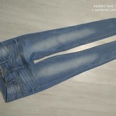 стильные джинсы р.46 в хорошем сост