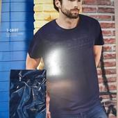 Оригинальная мужская футболка Livergy®, размер евро L 52/54 (замеры в описании)