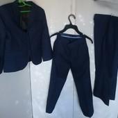 Школьный костюм с двумя брюками