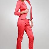 Новые фирменные зауженные брюки, xs-s, витрина