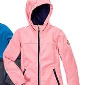 стильная куртка Softshell, внутри флис, на девочку от Crane. Есть нюанс