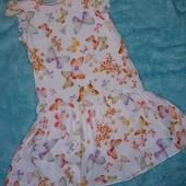 Обалденное платье от Zara,на 11-12 лет