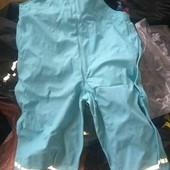непромокаемые дождевые штаны