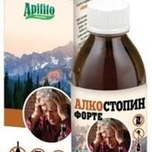 Сироп Алкостопин. Натуральное средство для борьбы с алкогольной зависимостью.