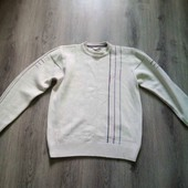 теплый мужской свитер в хорошем состоянии