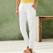 Модные женские льняные брюки Esmara. Размер евро 42. Реальное фото 3,4!