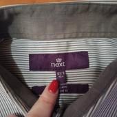 Рубашка Next 42 см, в отличном состоянии