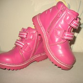 Демисезонные ботинки для девочки р.25