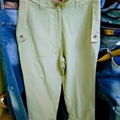 Турецкие штаны р. XL, поб 54 см, пот 39 см. Высокая талия