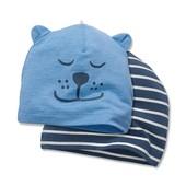☘ Комплект☘ Яркая шапочка, био-хлопок, Tchibo (Германия), размер: one size, полосатая