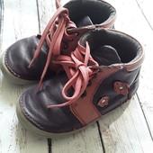 Кожаные ботиночки Lupilu 21размер