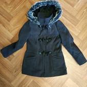 пальто для девочки 116-128 рост, оригинальное, бирки нет, смотрите замеры!