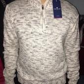 Свитер пуловер мужской фирменный tom tailor.оригинал.размер l.