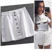 Стильная джинсовая юбка р.28