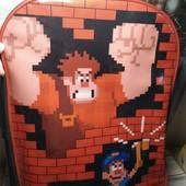 Рюкзак-чемдан на колесах Wreck it Ralph Disney