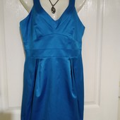 Роскошное коктейльное платье Debenhams (стрейч), размер 12 в идеале