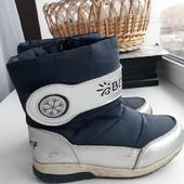 Продам зимние ботинки на натуральной овчине