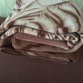 Одеяло плед. Евро размер.