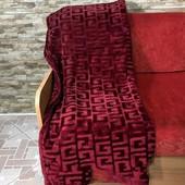 Велюровые покрывала Версаче -- плотные 220 х 200. Премиальное качество.