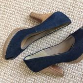 Абалдєнні джинсові туфлі! Проліт(