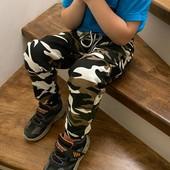 жоггеры на резинке для мальчиков с карманами. Размер на выбор.