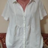 рубашка лён р. 18