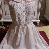 Красивое платье из прошвы Anmol
