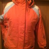термо Куртка, демисезон, внутри флис, мембрана 3000, р. 152 см, Killtec состояние отличное