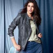 Стильная куртка эко-кожа Tchibo(Германия), размер:46-48 (40 евро)