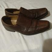 Брендовые туфли Claudio conti✓Германия✓100%Натур. кожа✓Как новые✓Стелька 30✓такие одни✓