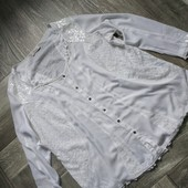 Нежная блуза евро 52 в идеале