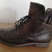 Ботинки под рептилию, бренд Walking, 25 см