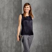 Esmara Германия Роскошная летняя блуза премиум коллекции 100% вискоза Размеры
