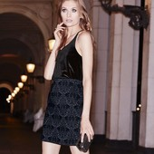 Esmara Германия Роскошная дизайнерская летняя бархатная блуза Размеры