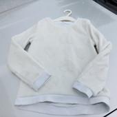 Стоп!!,фирменный удобный натуральный мягкий пушистый свитшот от h&m